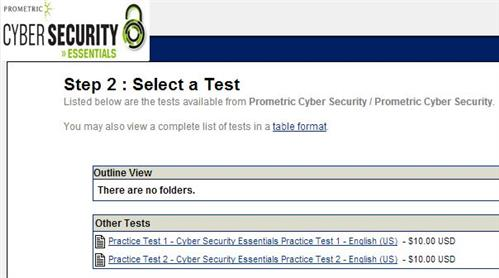 Prometric Offers Free Cyber Security Essentials Practice Test ...