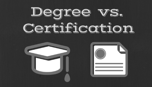 Cert Vs. Degree Gets Another Look | Nhames Group