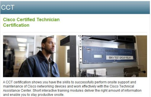 Cisco Launches New CCT Certification | Pearson IT Certification