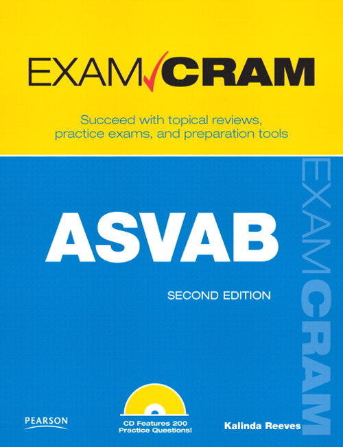 ASVAB Exam Cram: Armed Services Vocational Aptitude Battery,, 2nd Edition