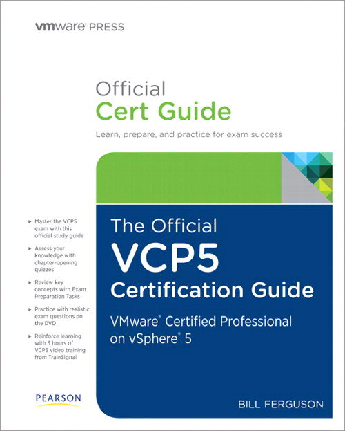Official VCP5 Certification Guide, Rough Cuts, The