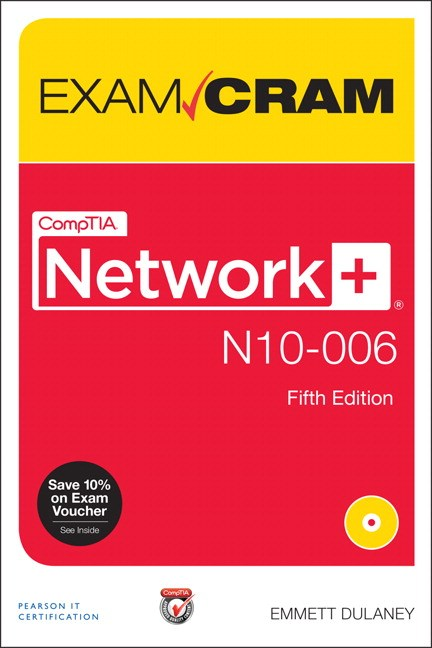 CompTIA Network+ N10-006 Exam Cram, Premium Edition and Practice Tests, 5th Edition