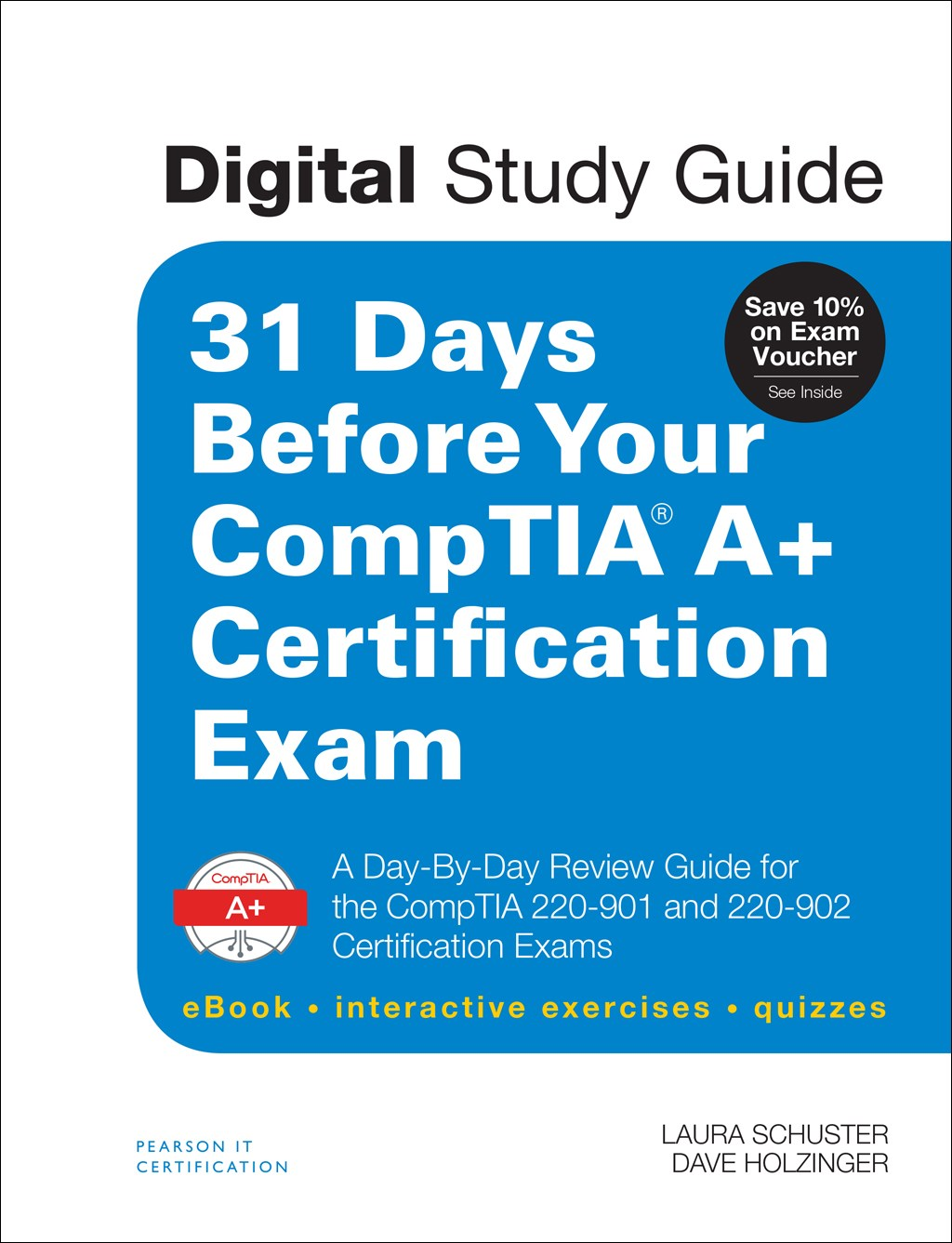 31 days before your comptia a certification exam digital study guide a day