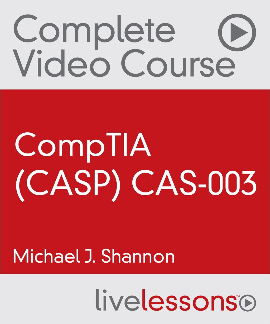 Practice tests pearson it certification comptia advanced security practitioner casp cas 003 complete video course and practice test xflitez Images