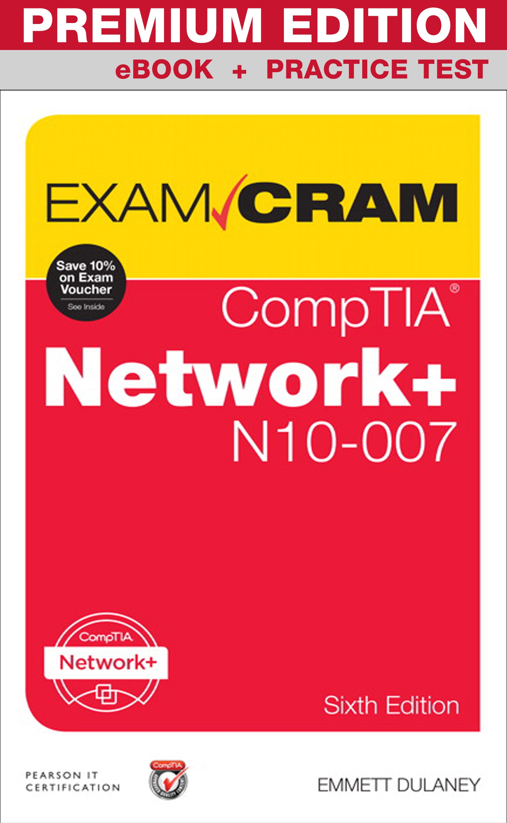 Practice tests pearson it certification comptia network n10 007 exam cram premium edition and practice tests 6th edition fandeluxe Image collections