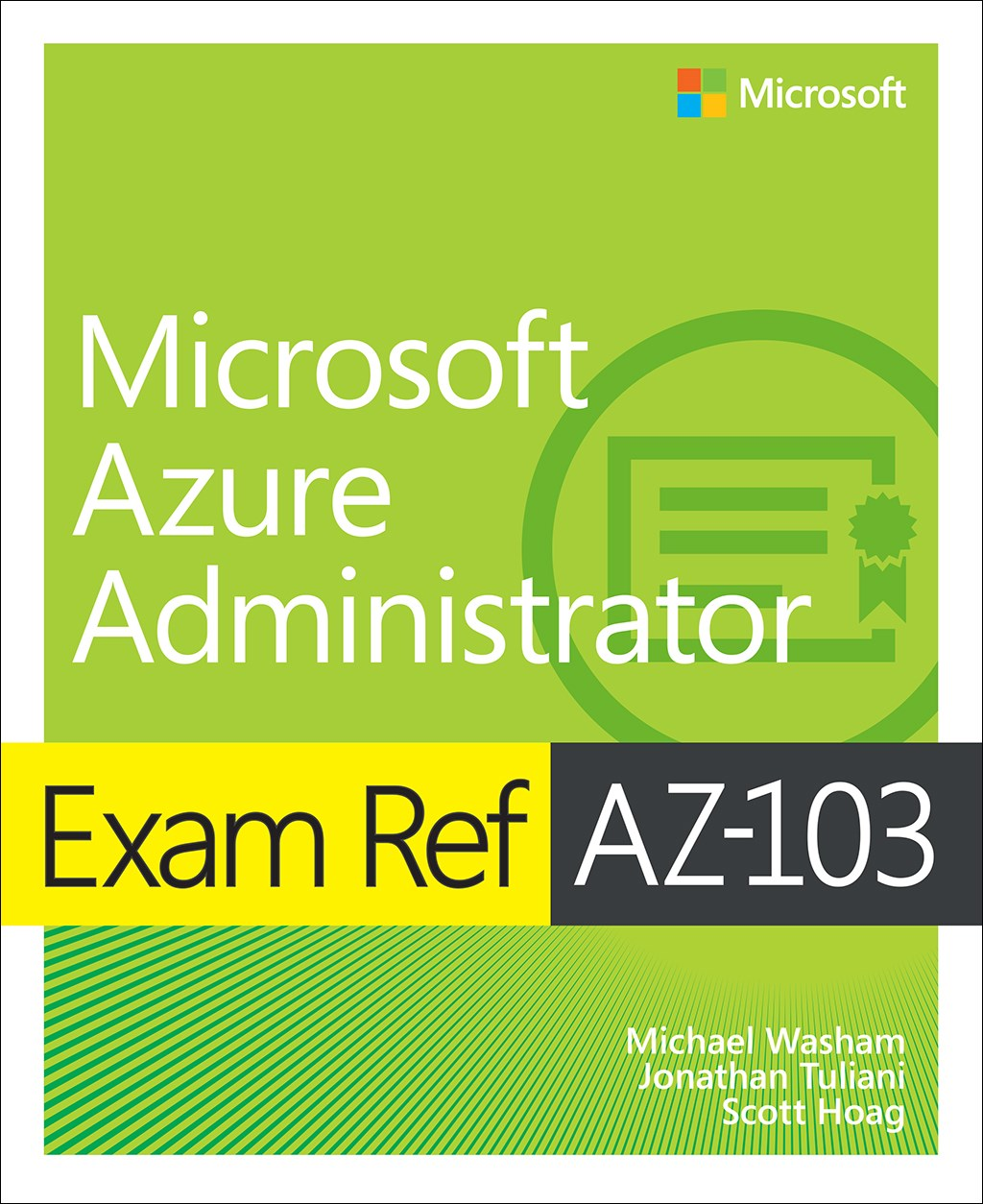 Exam Ref AZ-100 Microsoft Azure Infrastructure and Deployment