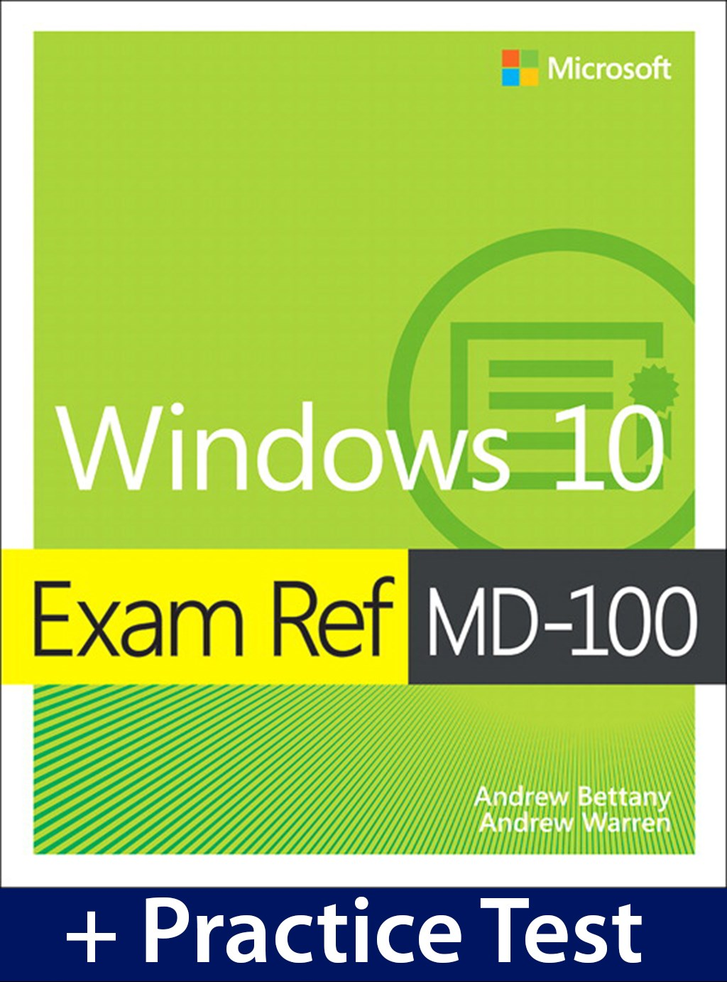 Exam Ref MD-100 Windows 10 with Practice Test