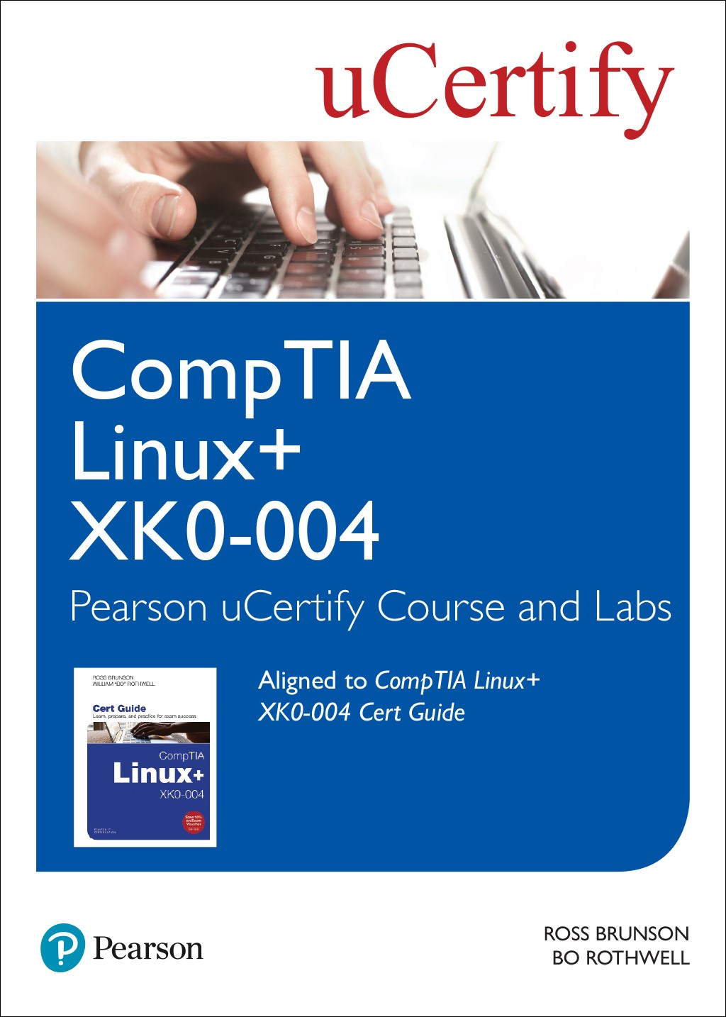 CompTIA Linux+ XK0-004 Cert Guide Pearson uCertify Course and Labs Access Code Card