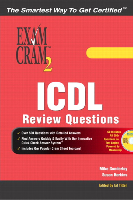 ICDL Review Exercises Exam Cram 2