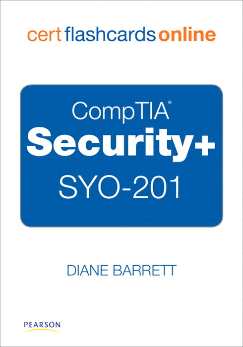CompTIA Security+ SYO-201 Cert Flash Cards Online