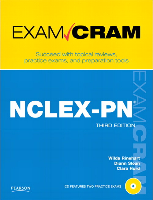 NCLEX-PN Exam Cram, 3rd Edition