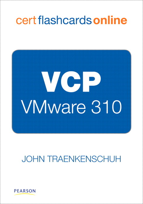 VCP VMware 310 Cert Flash Cards Online