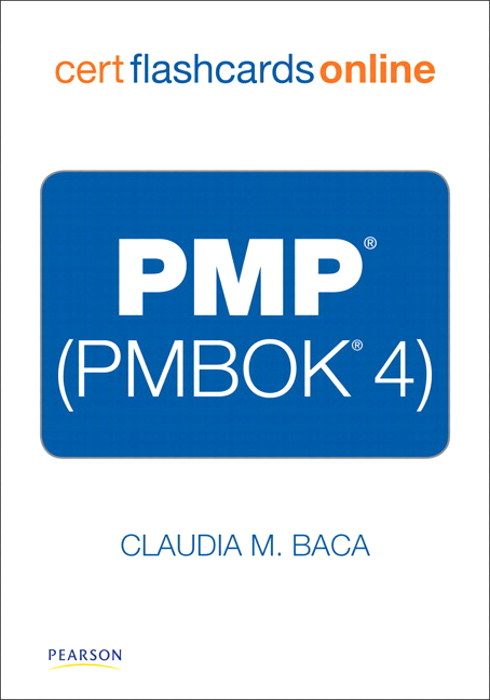 PMP (PMBOK 4) Cert Flash Card Online
