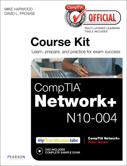 CompTIA Official Academic Course Kit: CompTIA Network+ N10-004, without Voucher