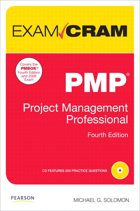 PMP Exam Cram: Project Management Professional,, 4th Edition