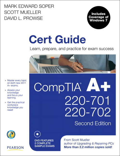 CompTIA A+ Cert Exam Guide 2nd ed Cover