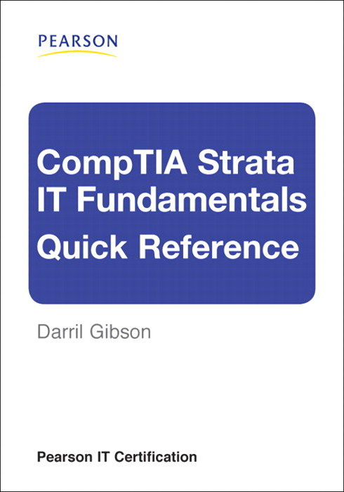 comptia fundamentals reference quick strata wish certification