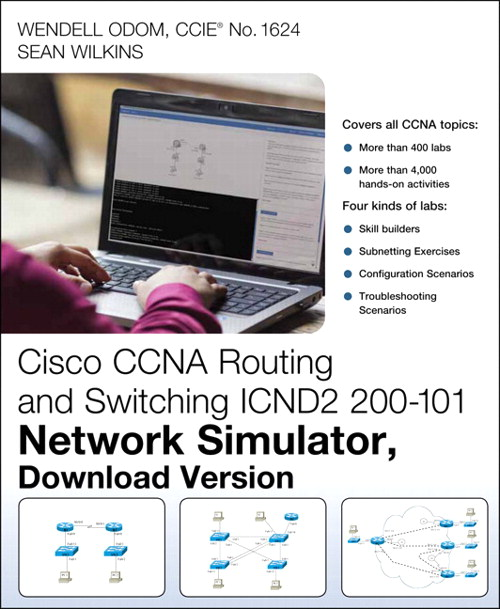 CCNA Routing and Switching ICND2 200-101 Network Simulator
