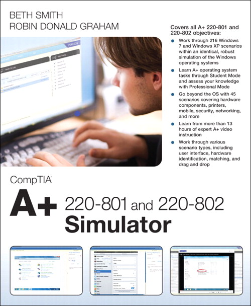 CompTIA A+ 220-801 and 220-802 Simulator