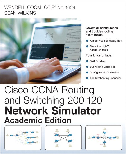 CCNA Routing and Switching 200-120 Network Simulator, Academic Edition, Student Version