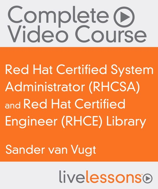 Red Hat RHCSA/RHCE Complete Video Course Library