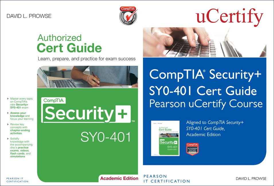 CompTIA Security+ SYO-401 Pearson uCertify Course and Cert Guide Bundle