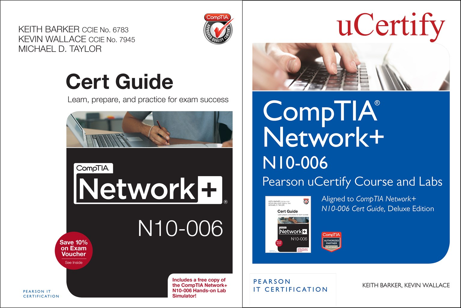 CompTIA Network+ N10-006 Pearson uCertify Course and Labs and Textbook Bundle