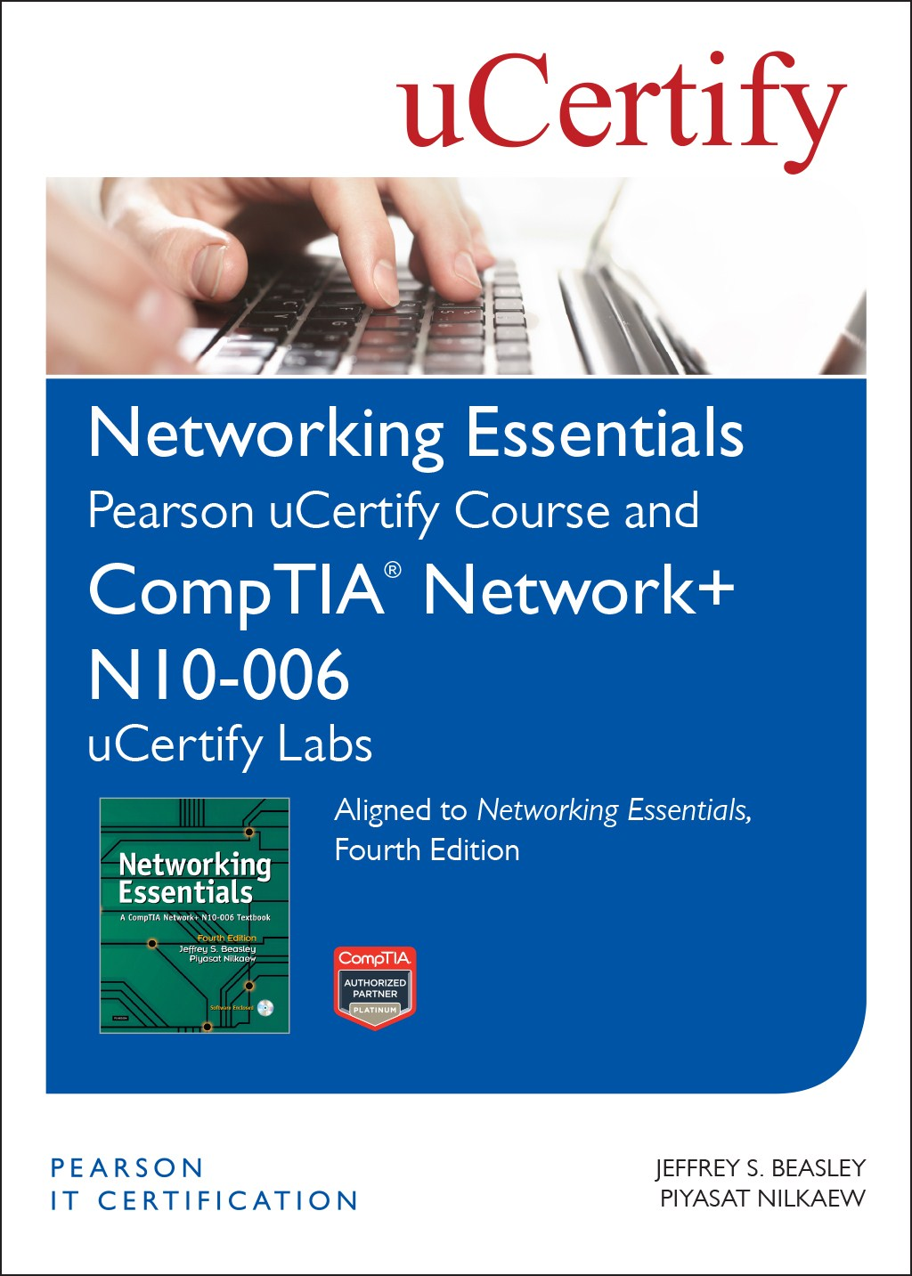 Networking essentials fourth edition pearson ucertify course and comptia network n10 006 ucertify labs
