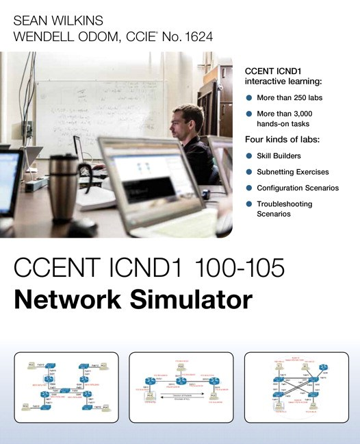 CCENT ICND1 100-105 Network Simulator | Pearson IT Certification