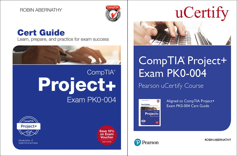 CompTIA Project+ Exam PK0-004 Pearson uCertify Course and Textbook Bundle