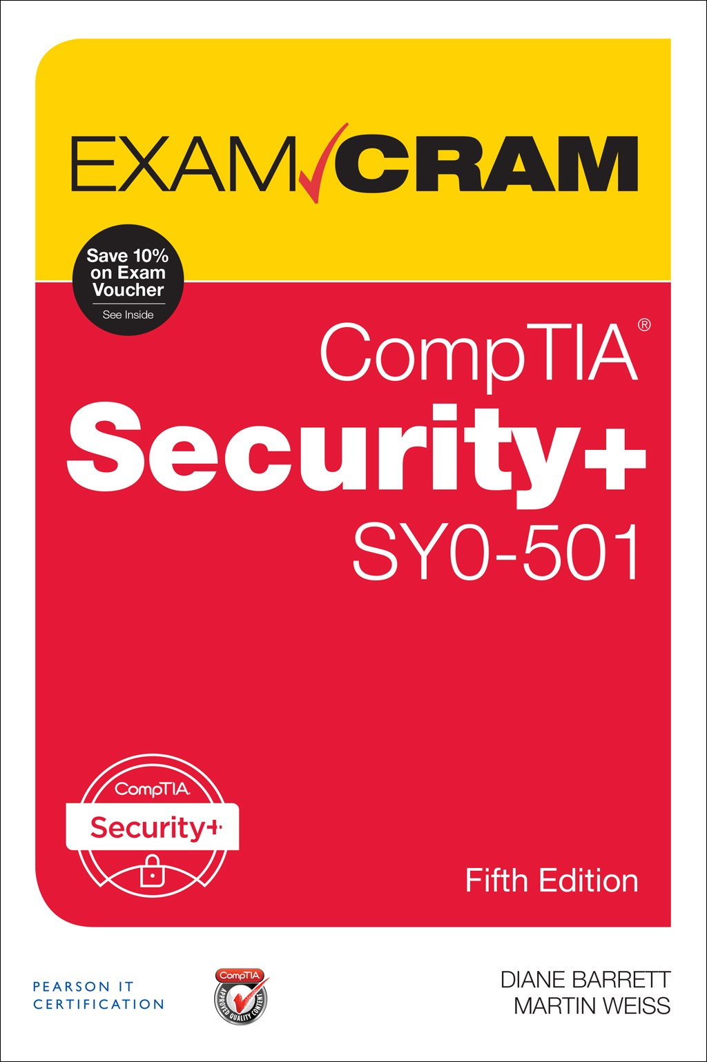 Comptia security sy0 501 exam cram 5th edition pearson it comptia security sy0 501 exam cram 5th edition fandeluxe Images