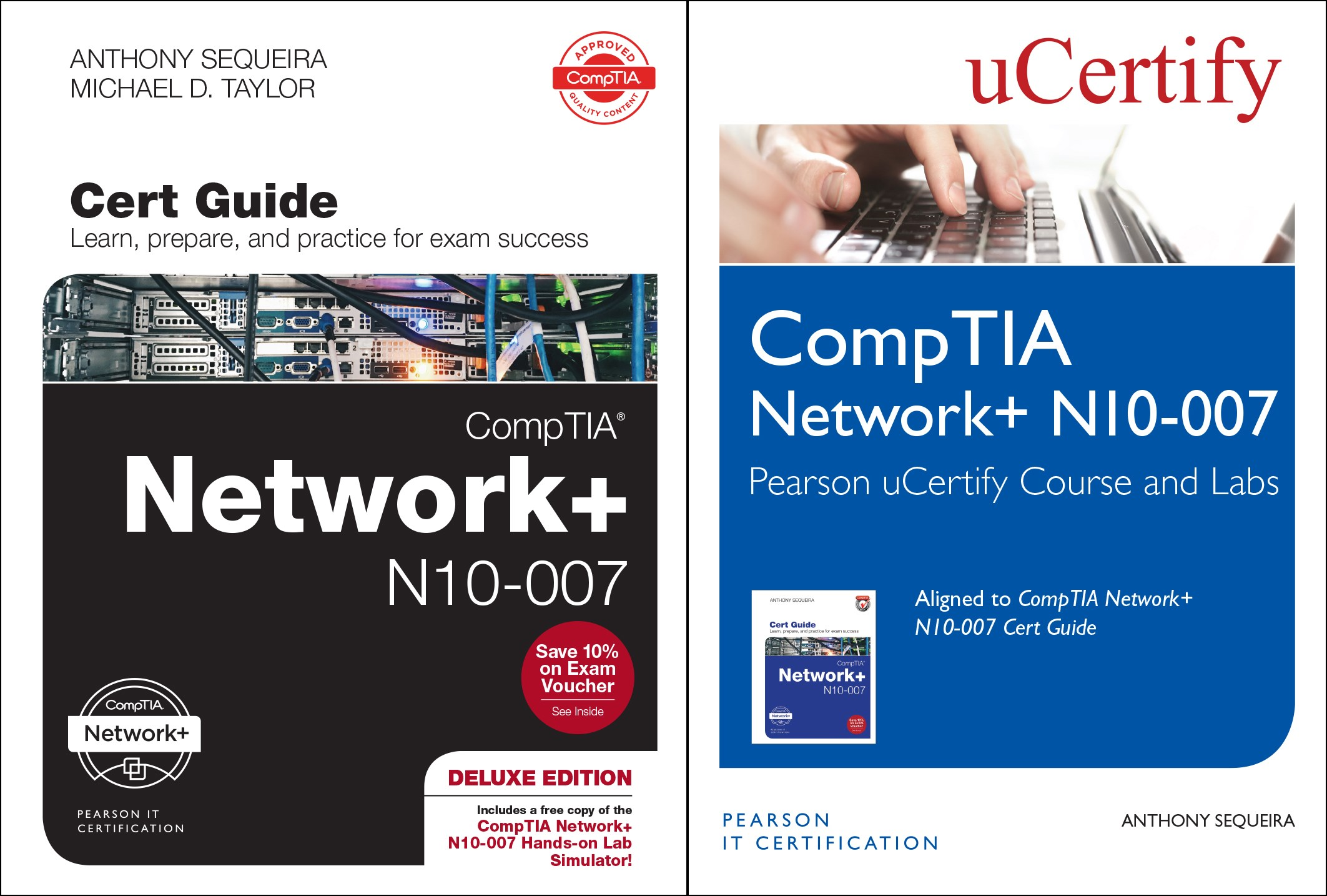 CompTIA Network+ N10-007 Pearson uCertify Course and Labs and Textbook Bundle