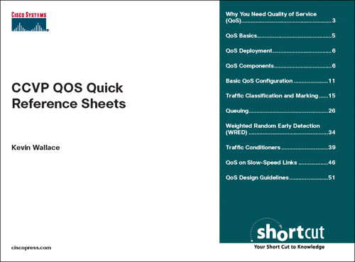 CCVP QOS Quick Reference Sheets