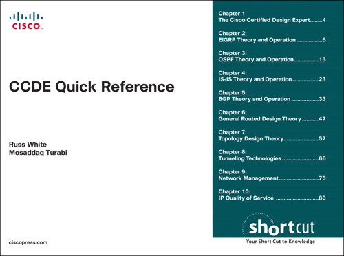 CCDE Quick Reference