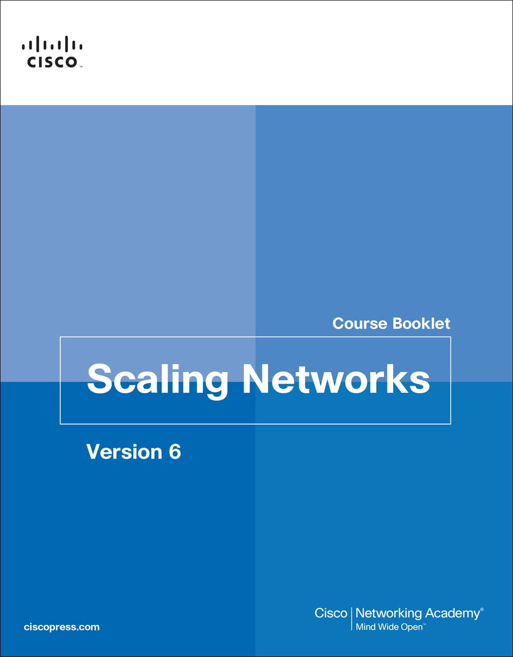 Scaling Networks v6 Course Booklet