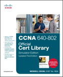 CCNA 640-802 Cert Library, Simulator Edition