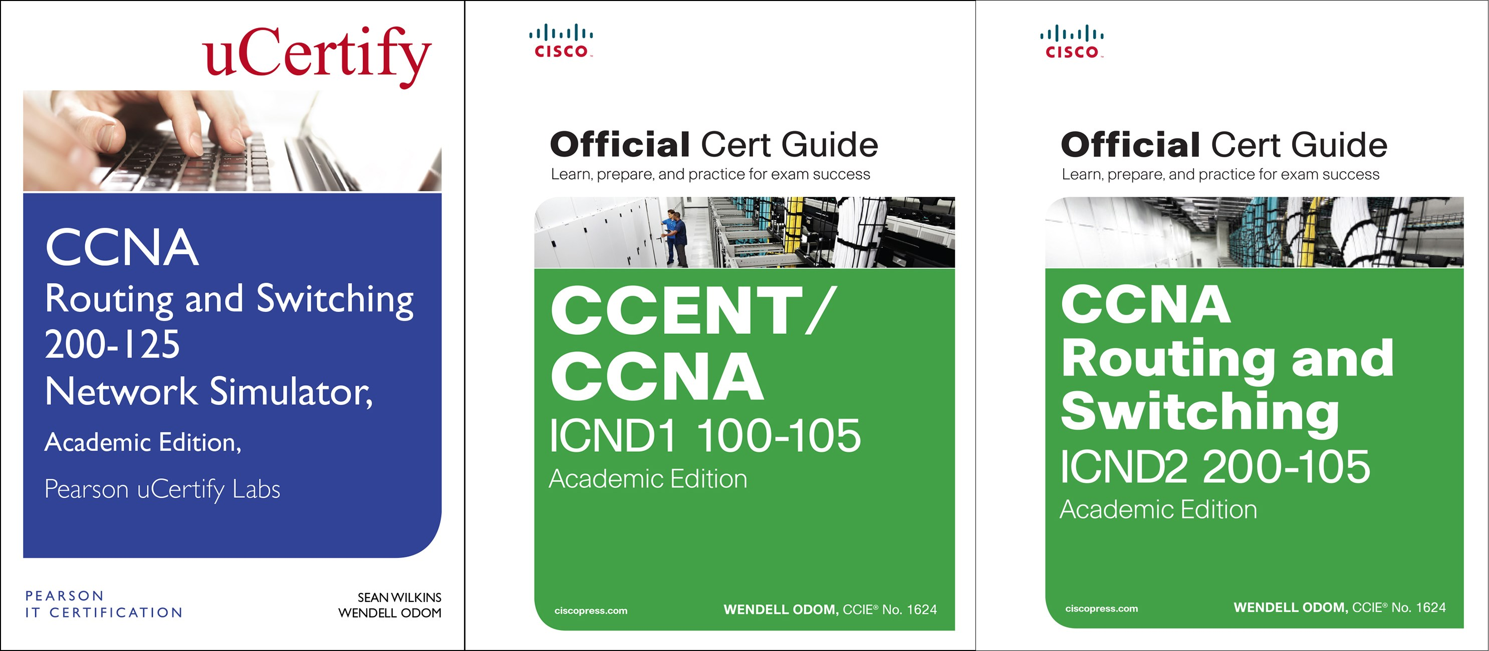 CCNA Routing and Switching 200-125 Official Cert Guide Library and Pearson uCertify Network Simulator Academic Edition Bundle