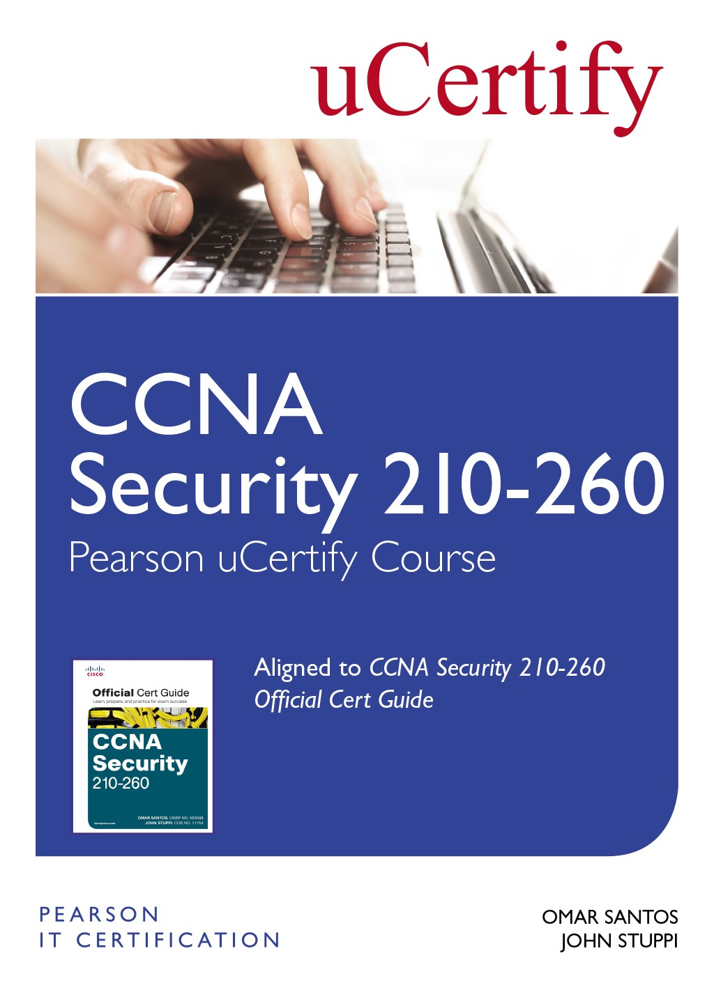 CCNA Security 210-260 Pearson uCertify Course Student Access Card