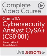 CompTIA Cybersecurity Analyst CySA+ (CS0-001) Complete Video Course and Practice Test