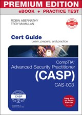 Practice tests pearson it certification comptia advanced security practitioner casp cas 003 cert guide premium edition and practice fandeluxe Gallery