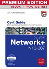 Practice tests pearson it certification comptia network n10 007 cert guide premium edition and practice test fandeluxe Gallery