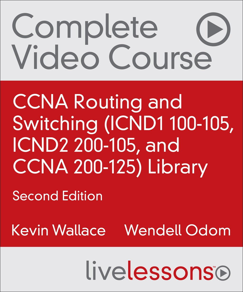 CCNA Routing and Switching Library with Practice Test