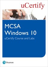 MCSA Windows 10 uCertify Course and Labs Access Code Card