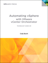Automating vSphere with VMware vCenter Orchestrator