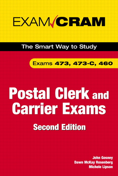 Postal Clerk and Carrier Exam Cram (473, 473-C, 460), 2nd Edition