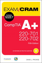 CompTIA A+ 220-701 and 220-702 Exam Cram, 5th Edition