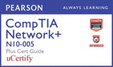 CompTIA Network+ N10-005 Pearson uCertify Course and Cert Guide Bundle