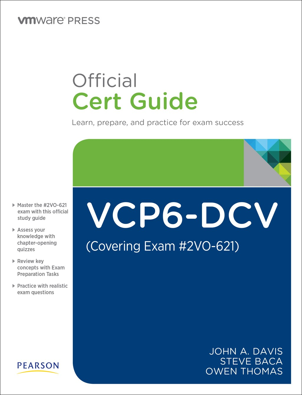 VCP6-DCV Official Cert Guide (Exam #2V0-621), 3rd Edition