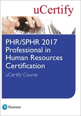 PHR/SPHR-2017 Professional in Human Resources Certification uCertify Course Student Access Card