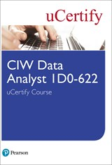 CIW Data Analyst 1D0-622 uCertify Course Student Access Card